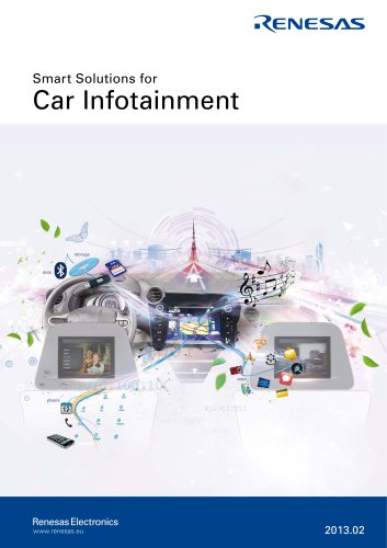 Smart Solutions for Car Infotainment