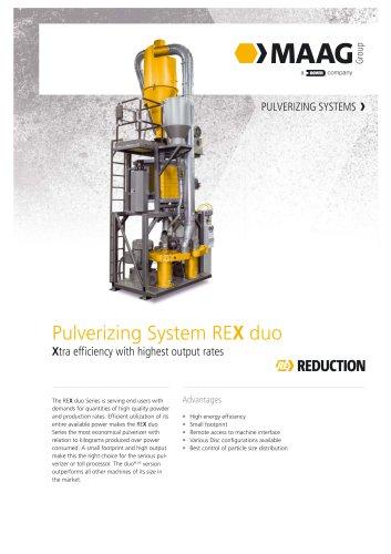 Pulverizing System REX duo
