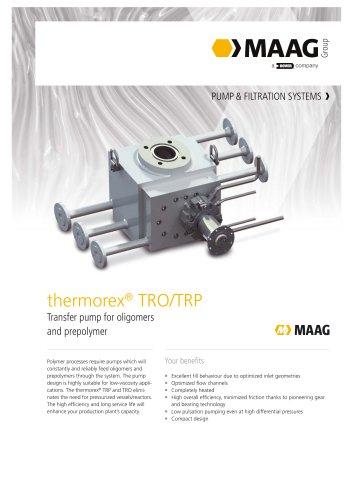 thermorex TRO/TRP