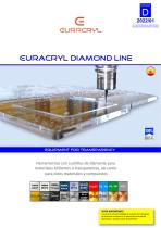 EURACRYL DIAMOND LINE : Fresas de diamante para acabado brillante
