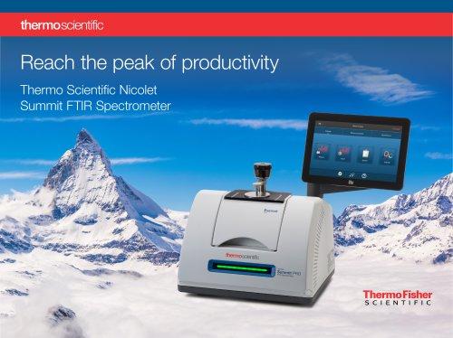 Thermo Scientific Nicolet Summit FTIR Spectrometer