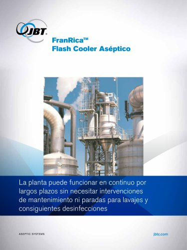 FranRica™ Flash Cooler Aséptico