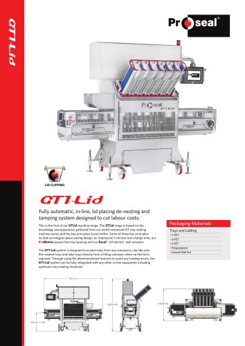 GT1-Lid Machine