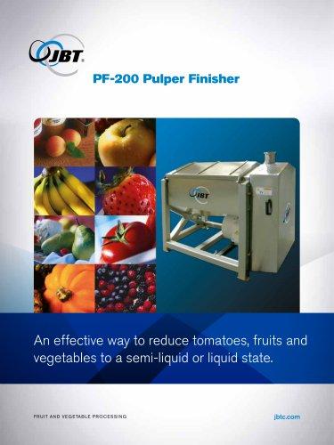 Pulper-Finisher
