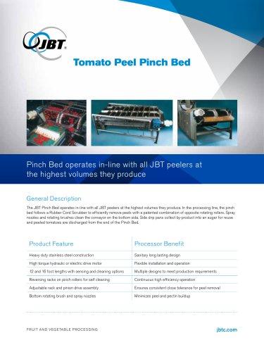 Tomato Peel Pinch Bed