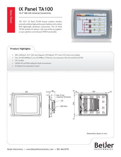 iX Panel TA100