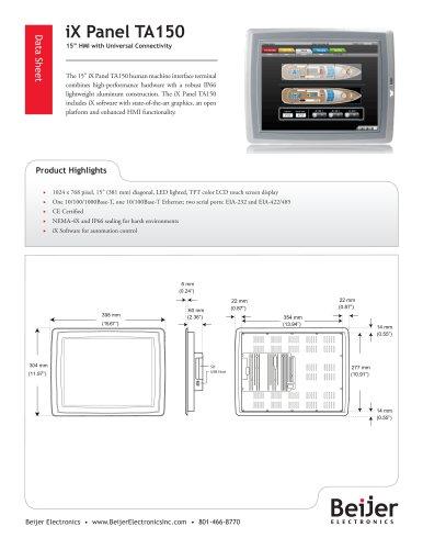 iX Panel TA150