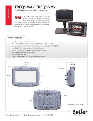 Powerful and Versatile TREQ-VM/VMx Data Sheet