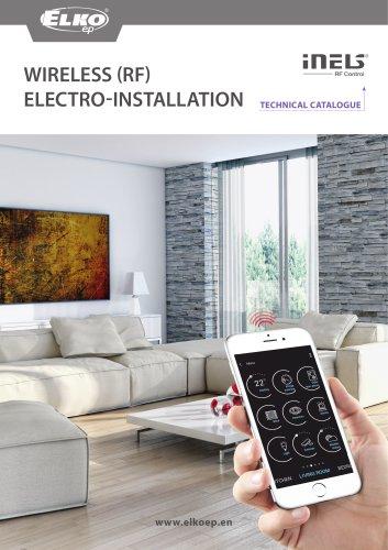 Wireless (RF)  electro-installation