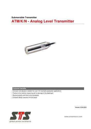 ATM/K/N - Analog Level Transmitter