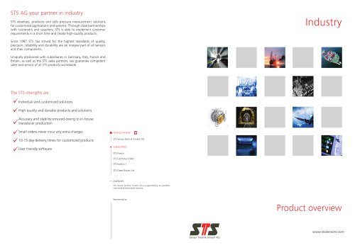 Product overview Industry