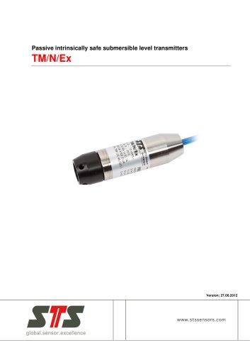 TM/N/Ex Passive intrinsically safe submersible level transmitter