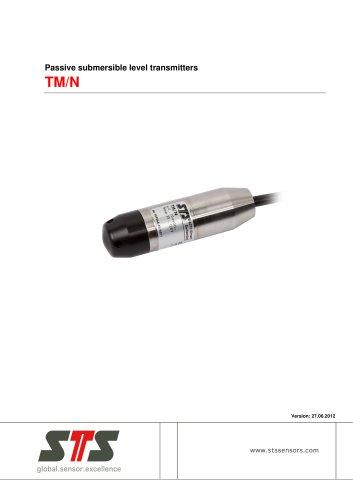TM/N Passive pressure transmitter