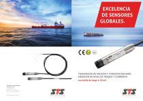 Transmisor de presión, nivel y temperatura progammable PTM.MT/N/Ex