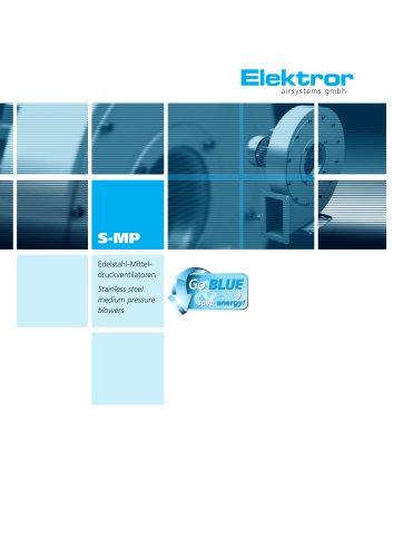 Stainless Steel Blowers, radial, medium pressure S-MP