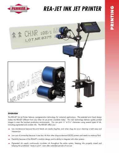 REA-JET Ink Jet Printer
