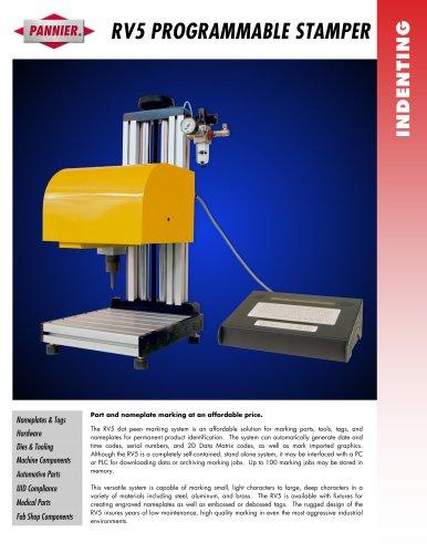RV5 Tag Engraving Machine