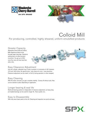 Colloid Mills
