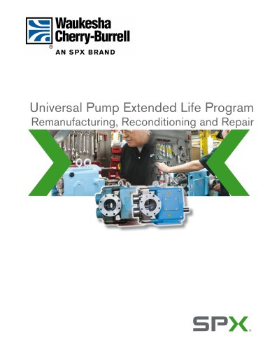 Pump Remanufacturing Program