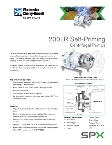 Self-Priming Pump Flyer