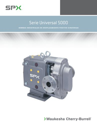 Universal 5000 Series INDUSTRIAL ROTARY POSITIVE DISPLACEMENT PUMPS