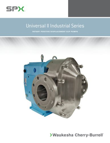 Universal II Industrial Series Pumps