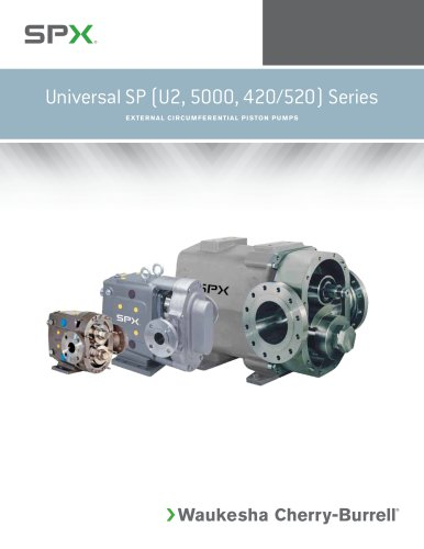 Universal SP Series PD Pumps External Circumferential Piston (ECP)