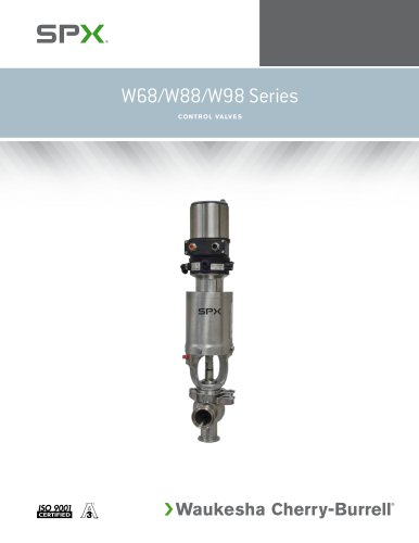 W68 Series Control Valves