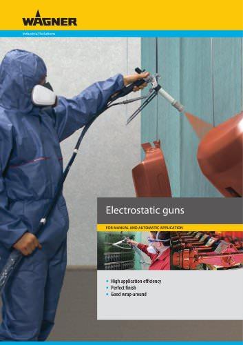 Electrostatic guns