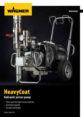 HeavyCoat Hydraulic piston pump