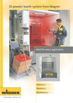 ID powder booth system from Wagner