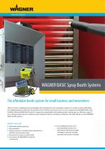 WAGNER BASIC Spray Booth Systems