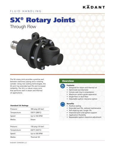 SX Rotary Joint