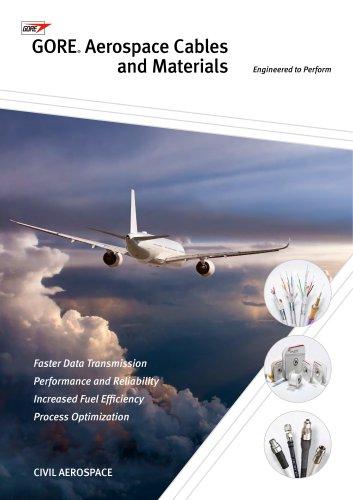 GORE® Aerospace Cables and Materials - Civil Applications