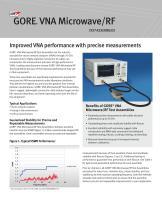 GORE® VNA Microwave/RF TEST ASSEMBLIES
