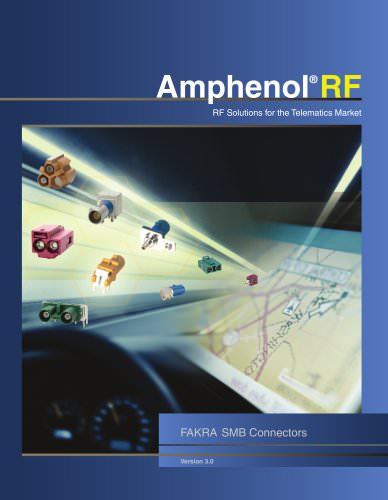 Amphenol RF   FAKRA Catalog