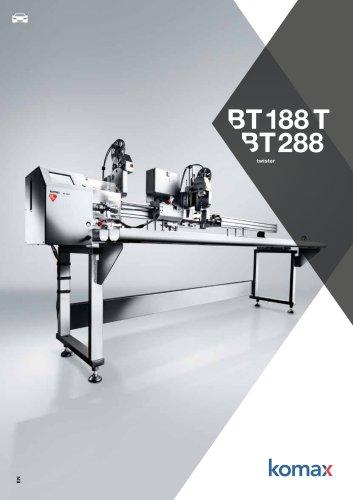 bt 188 T / 288 Semiautomatic twister