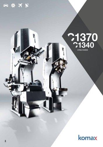 C1370/C1340 Crimping modules