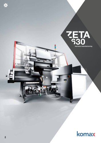 Zeta 630 Crimping machine