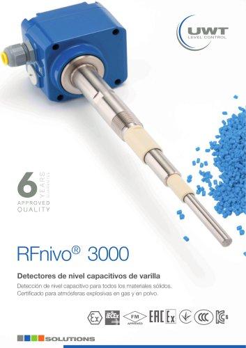 Detectores de nivel capacitivos de varilla RFnivo®3000 es