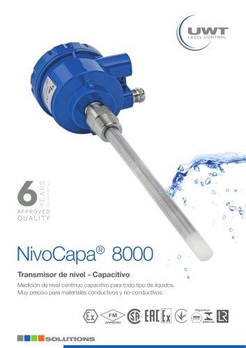 Leaflet NivoCapa® NC 8000 spain