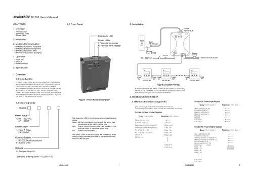 DL200 User's Manual