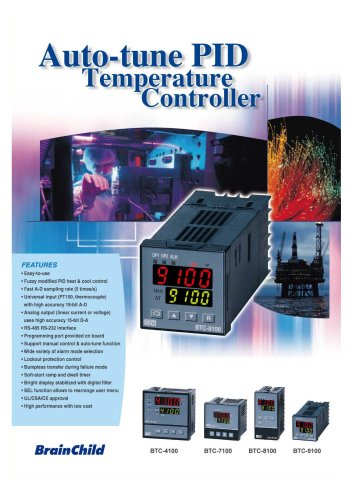 Low-Cost Temperature Controller