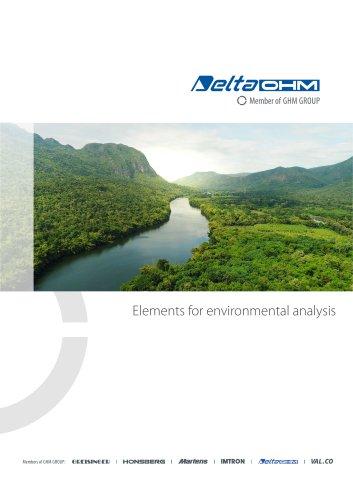 Elements for environmental analysis