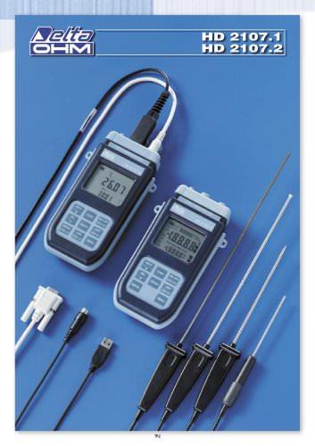 Instrumentos portatiles HD 2107.1