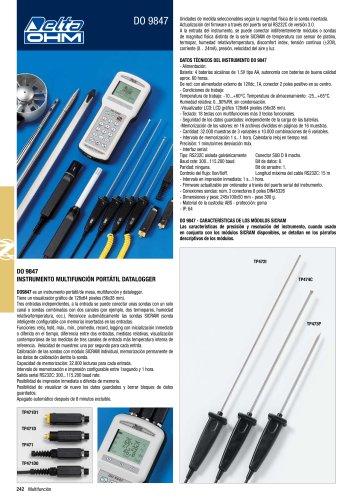 Medidor Multifuncion DO9847