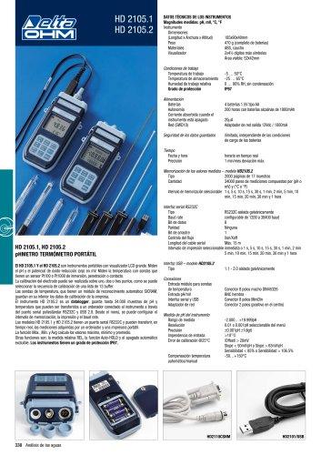 pHmetros portable HD2105.1