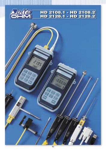 Termometros tempopar HD 2108.1