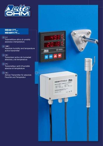 Transmisor activo de humedad
