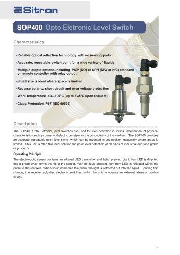 SOP400 Opto Eletronic Level Switch
